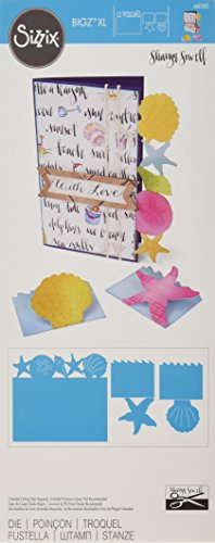 Sizzix Bigz Die, Card and Mini Cards, Seashells and Starfish by Sharyn Sowell