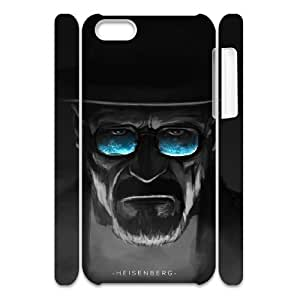 Cool Painting Breaking Bad DIY 3D Cover Case for Iphone 5C,personalized phone case case320997