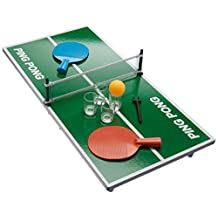 Game Night Drinking Ping Pong Game with Shot Glasses