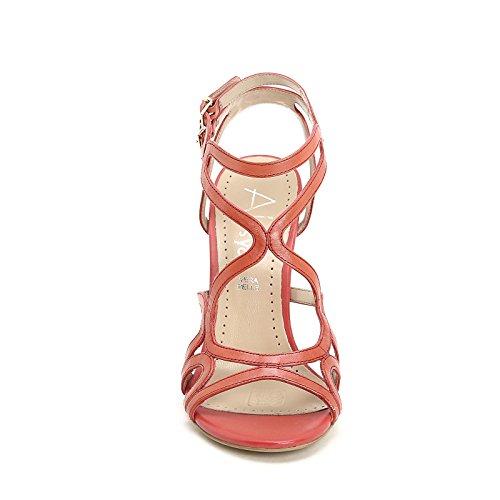 ALESYA by Scarpe&Scarpe - Sandalias altas con correas, de Piel, con Tacones 9 cm Rojo