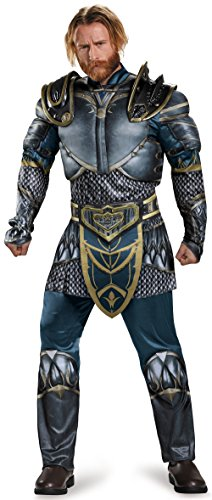 The Craft Movie Costumes (Disguise Men's Warcraft Lothar Muscle Costume, Multi, Medium)