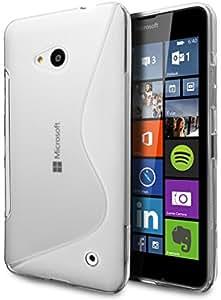 Microsoft Lumia 640 Case, Cimo [Wave] Premium Slim TPU Flexible Soft Case for Microsoft Lumia 640 - Clear