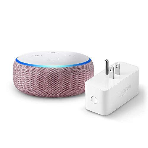Echo Dot (3rd Gen) Bundle with Amazon Smart Plug Now $23.99 (Was $74.98)