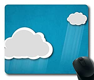 Perfect Rain Clouds Vintage Art Masterpiece Limited Design Oblong Mouse Pad by Cases & Mousepads