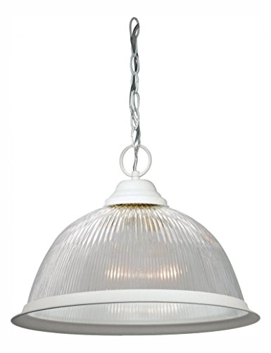 Prismatic Dome Pendant Light - 8