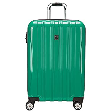 Delsey Paris 25  Helium Aero Expandable Spinner Trolley, Emerald Green