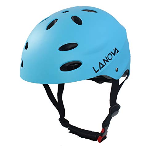 Best Deals! LANOVAGEAR Skate Helmet Child Youth Adjust Multi-Sport Helmet for Cycling Skateboarding ...