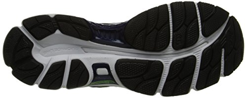Calzado de running Gel-Evate 3 para hombre, medianoche / Lightning / Flash Green, 8.5 M US