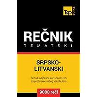 Srpsko-Litvanski tematski recnik - 9000 korisnih reci