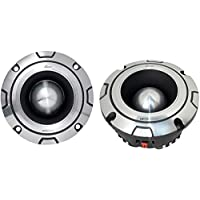 2) NEW LANZAR OPTIBT44 1200W Optidrive Heavy Duty Aluminum Super Bullet Tweeters