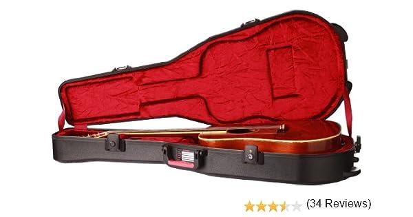 Gator GPE-DREAD-TSA - Estuche para guitarra dreadnought (interior ...
