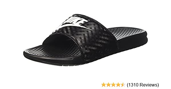 on sale a1089 edb72 Amazon.com  NIKE Womens Benassi Just Do It Synthetic Sandal  Flip-Flops