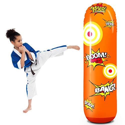 Kids Inflatable Punching Bag - Novelty Place Kid's Inflatable Punching Bag