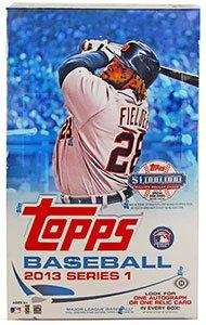 (2013 Topps Series 1 Baseball Hobby Box)