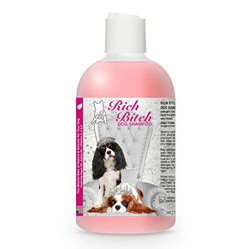 The Blissful Dog Cavalier King Charles Spaniel Rich Bitch Dog Shampoo, Pink, 4 oz