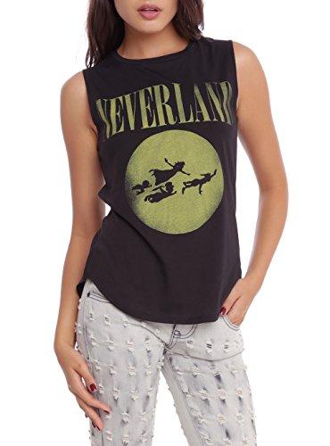 Disney Peter Pan Neverland Girls Muscle Top Size : Medium