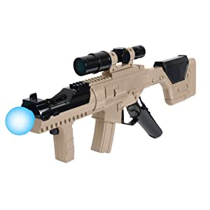 CTA Digital Submachine Gun For PlayStation Move - Volante/mando (Pistola, Playstation, Select, Inalámbrico, RF, 0.453 kg)