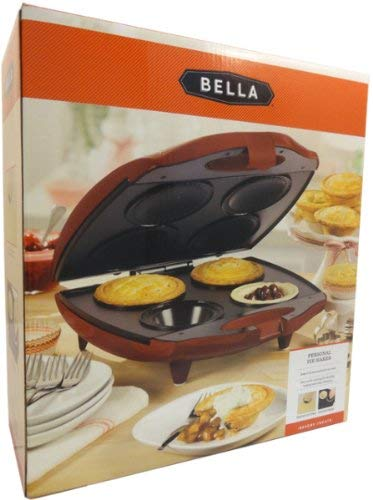 Sensio Bella 13585 4 Slot Pie Maker, Red