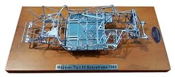 Maserati typo 61 Birdcage space frame 1:18 cmc m-122 />/> New /</<