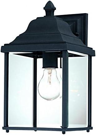 Dolan Designs 935-50 Inch Black Charleston Outdoor Wall Light, 13
