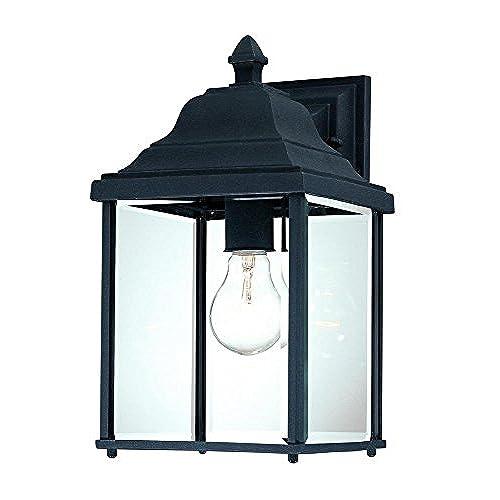 Dolan Designs 935-50 Charleston Outdoor Wall Light 13  Black  sc 1 st  Amazon.com & Charleston Lighting: Amazon.com