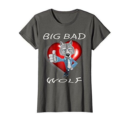 Womens Big Bad Wolf Paw Halloween Costume T-Shirt T Shirt Tee Shirt XL Asphalt