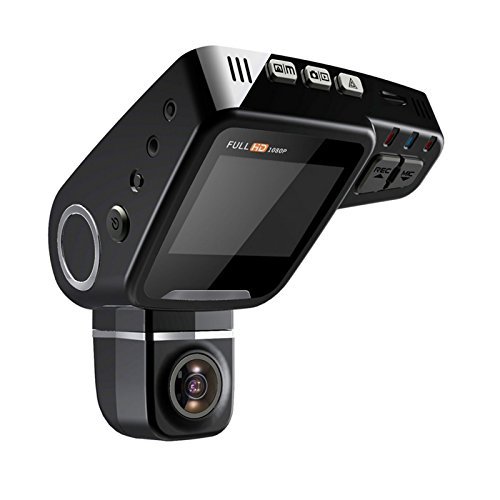 Lian LifeStyle Latest Technology HD Dash Camera Trusted Quality Car Accessories: Security Camera Front & Rear with Night Vision for Safety SD LY620S