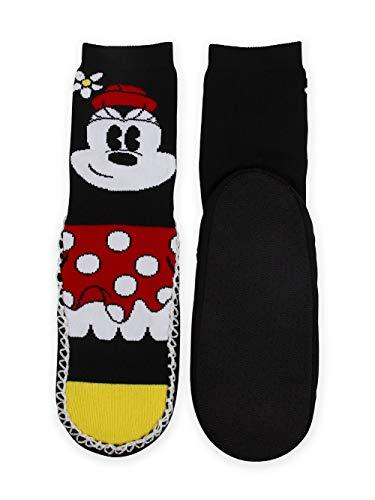 Mickey Mouse Minnie Mouse Womens Slipper Socks Eskimunks