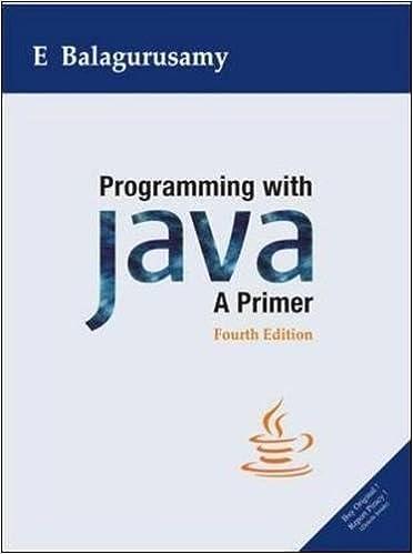 Programming with Java : A Primer 4 Edition price comparison at Flipkart, Amazon, Crossword, Uread, Bookadda, Landmark, Homeshop18