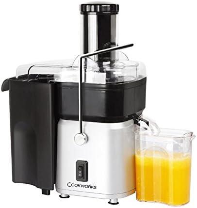 Cookworks Whole Fruit Juicer StSteel: Amazon.co.uk