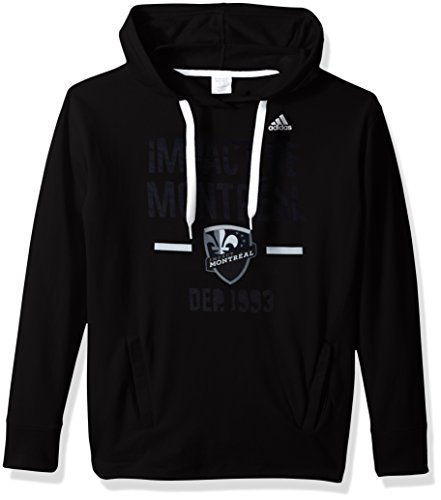 fan products of MLS Impact Montreal Adult Women Simply Put Fleece Hood, Large, Black