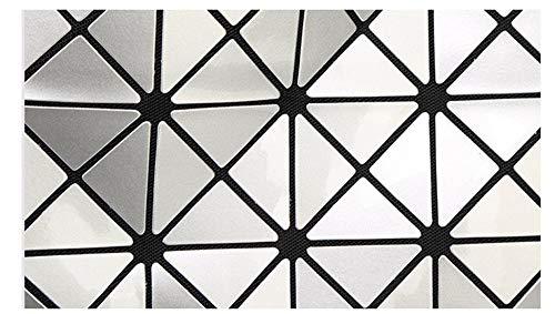 Tracolla Variabile A Geometrica Diamond Rubik Nera Cube Violet Stitching Borsetta Borsa Donna 6 Singola f8Y0w0