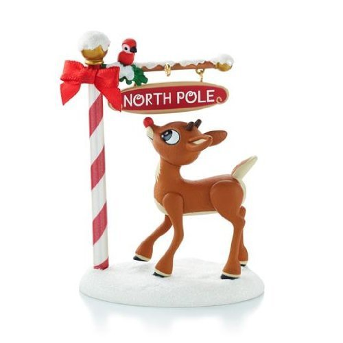North Pole Pals - Rudolph the Red-Nosed Reindeer 2013 Hallmark ()