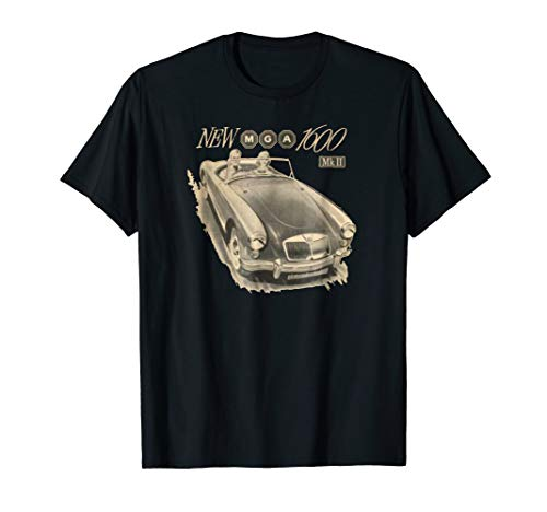 MGA 1600 T-Shirt! The Great British Sports Car from THe Design Bin