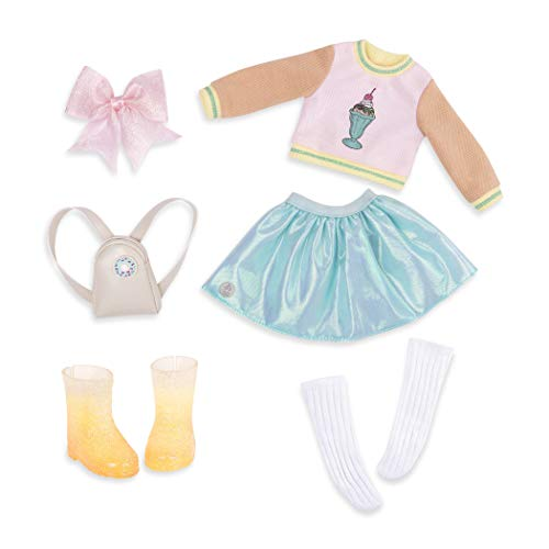 (Glitter Girls by Battat - Sweet Dazzle Tutu & Sweater Deluxe Outfit - 14