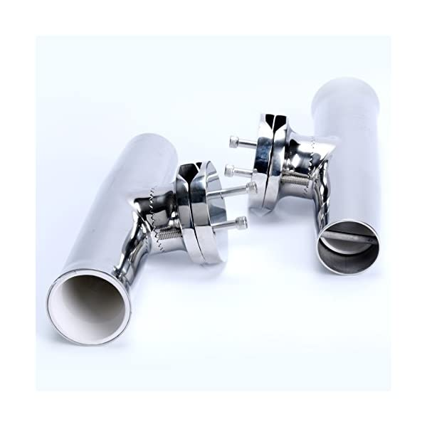 2x-Amarine-made-Stainless-Tournament-Style-Clamp-on-Fishing-Rod-Holder-for-Rails-1-14-to-2