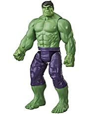 Marvel Avengers Titan Hero Series Blast Gear Deluxe Hulk Action Figure, 12-Inch Toy, For Kids Ages 4 And Up