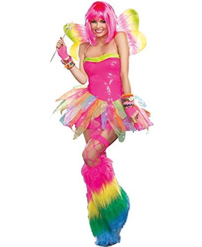 Rainbow Fairy Adult Costumes (Rainbow Fairy Adult Costume - X-Large)
