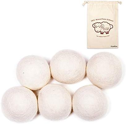OrgaWise bola lavadora Bolas de Lana Secador de Lana de Bolas de ...