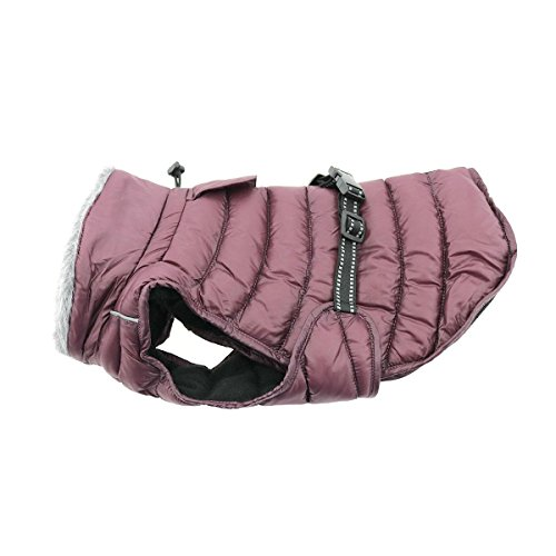 Cheap Alpine Extreme Weather Dog Puffer Coat (5X-Large, Burgundy)