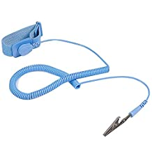 STARTECH SWS100 ESD Anti Static Wrist Strap Band with Grounding Wire, Blue