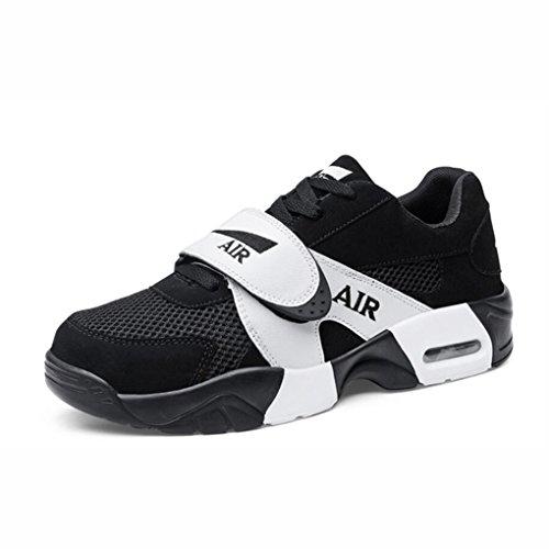YaXuan Turnschuhe der Frauen, Sommer-Neue Kursteilnehmer-beiläufige Schuhe 2018, Starke Untere Koreanische Version der Laufenden Schuhe, Paar-Sport-Schuhe, (Farbe : B, Größe : 37) B