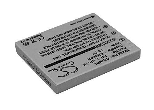 (820mAh Replacement Battery for MINOLTA MBH-NP-1 NP-1 NP-1H)