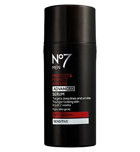 No7の男性は強烈な高度な血清を保護&完璧 (No7) (x2) - No7 Men Protect & Perfect Intense ADVANCED Serum (Pack of 2) [並行輸入品]   B01MQFF3K7
