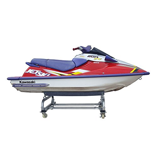 Jet Mate (Rage Powersports Harbor Mate – Personal Watercraft Dolly – PWC-Dolly – Dock, Slipway or Shore Cart – Rust-Proof Galvanized Steel – 1,000-Pound Weight Capacity – Dual Wheel Brakes – One-Year Warranty)