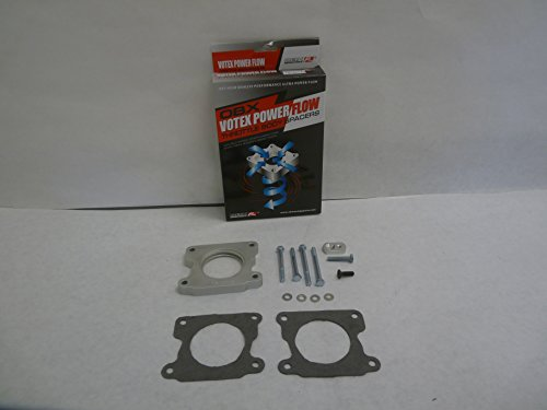 OBX Performance Votex Power Flow Throttle Body Spacer CHEVROLET S10 PICKUP 99-01 L4 2.2L (Pickup Throttle Spacer Body)