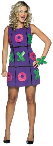 Tic Tac Toe Dress Adult Costume
