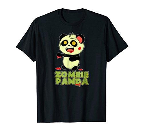 Zombie Panda Halloween T -