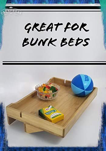 - Attachable Bed Shelf, Bed Shelf Shelf for bunk Bed Bed Side Shelf Bunk Bed Shelf Dorm Bed Shelf Floating nightstand Bunk Bed Accessories Bunk Bed Tray Loft Bed Accessories Bedside Shelf Hanging Stand