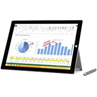 Microsoft Surface Pro 3 MQ2-00001 12-Inch Full HD 128 GB Storage Multi-Touch Tablet (Silver) (Certified Refurbished)